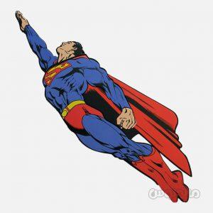 استیکر فومی 1تکه سوپرمن دکوفان