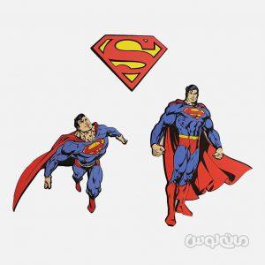 استیکر فومی 3 تکه سوپرمن دکوفان
