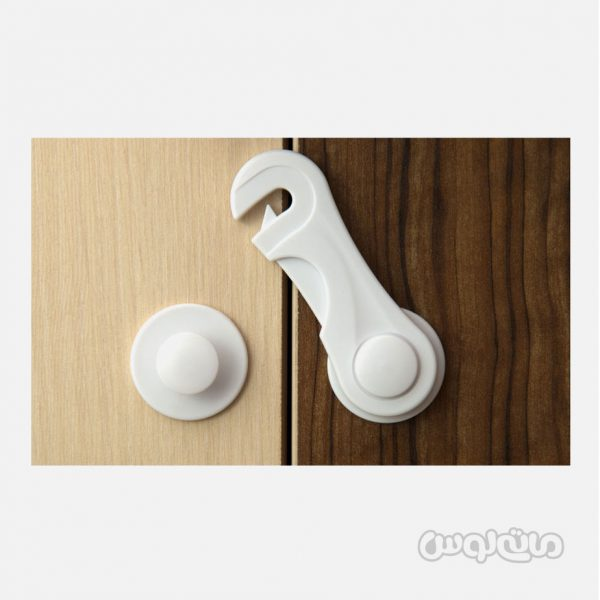 قفل کشویی درب کابینت و کمد نی نو