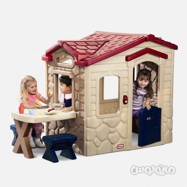کلبه پیک نیک همراه با میز و صندلی لیتل تایکس