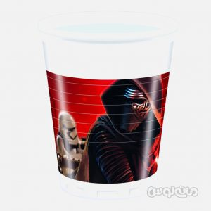 لیوان پلاستیکی استاروارز بسته 8 تایی (200 میلی لیتر) دکوراتا