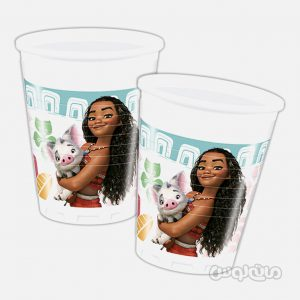لیوان پلاستیکی موآنا بسته 8 تایی (200 میلی لیتر) دکوراتا