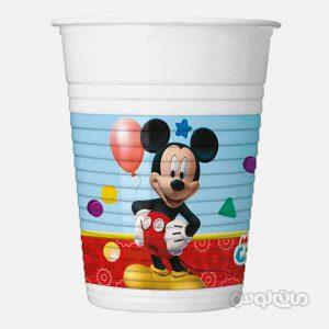 لیوان پلاستیکی میکی بازیگوش بسته 8 تایی (200 میلی لیتر) دکوراتا