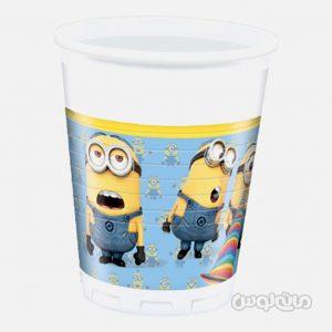 لیوان پلاستیکی مینیون ها بسته 8 تایی (200 میلی لیتر) دکوراتا