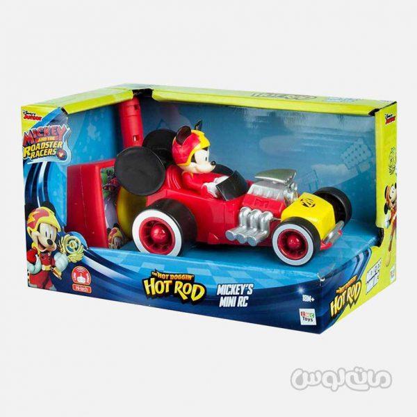ماشین مسابقه میکی موس کنترلی سری دیزنی جونیور آی ام سی