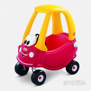 ماشین سوار شدنی قرمز زرد لیتل تایکس