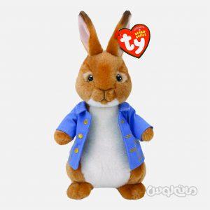 عروسک پیتر خرگوشه 8 اینچ سری پیتر ربیت سری بینی بی بیس تی وای