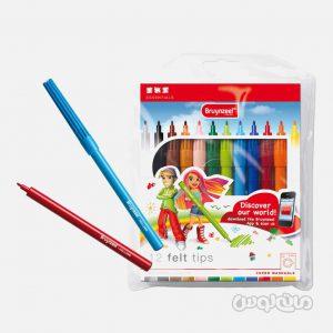 ماژيک 12 رنگ جعبه پلاستيکي سری اسپشيال برونزيل