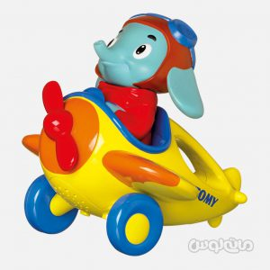 فیل هواپیما سوار تامی نوزادی