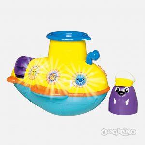 زیردریایی داخل حمام تامی نوزادی