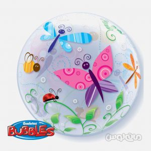 بادکنک 22 اينچ پلاستيکي پروانه ها کوالاتکس