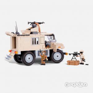 ماشين حمل اسرا همراه با مسلسل سری اسمال آرمي کوبي ساختنی