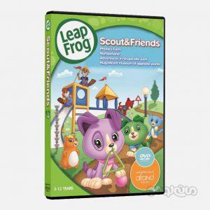 سی دی آموزشی اسکات و دوستان سری ليپ فراگ انتشارات افرند