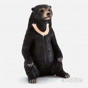 فیگور خرس سياه سری وايلد لايف موجو