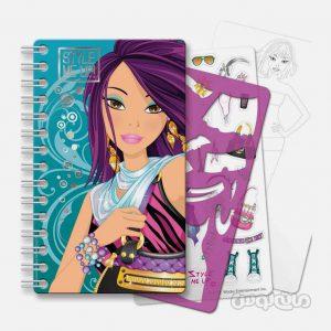 دفترچه طراحی کوچک استايل مي آپ