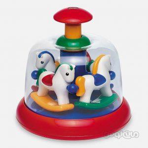 گردونه فشاري اسب تولو نوزادی
