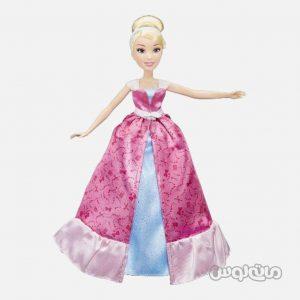 عروسک سيندرلا همراه با استايل تغيير لباس سری ديزني پرينسس هزبرو