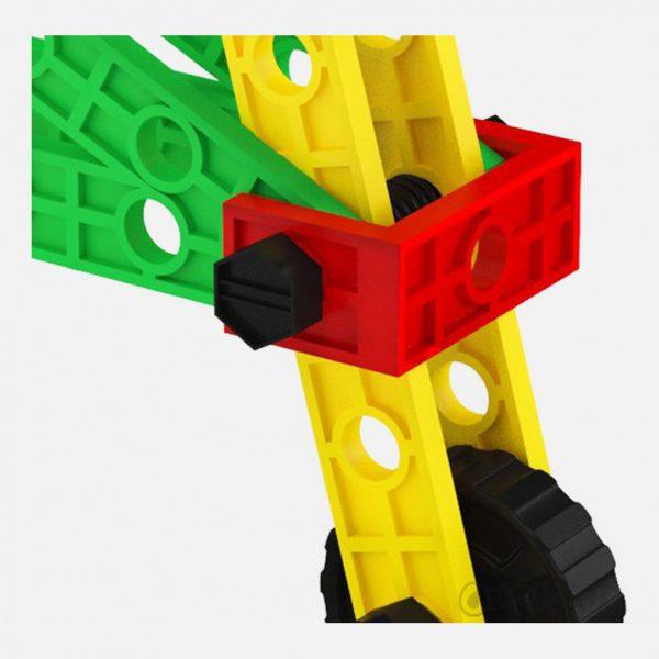 هزار سازه 744 قطعه بشکه اي فکر آذين ساختنی