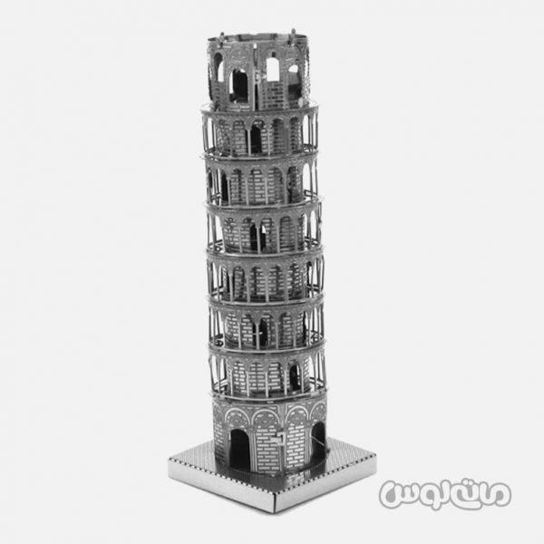 برج پيزا سری 3D متال کيت متال ورلد ساختنی