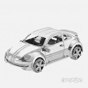 فولکس بيتل سری 3D متال کيت متال ورلد ساختنی
