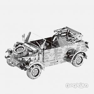کوبل واگن WW82 سری 3D متال کيت متال ورلد ساختنی