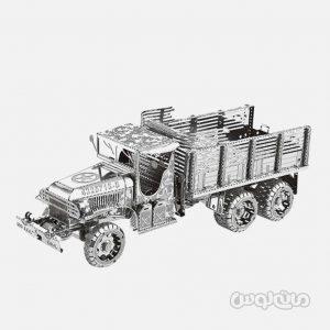 کاميون ارتشي سری 3D متال کيت متال ورلد ساختنی