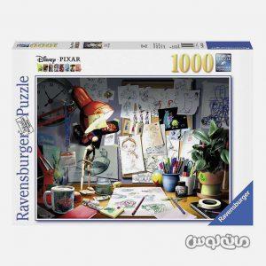 پازل 1000 قطعه ميز هنرمند رونزبرگر