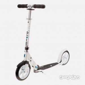 اسکوتر دو چرخ سفيد مايکرو