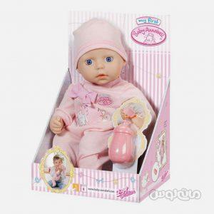 عروسک نوزاد با شیشه شیر بی بی آنابل زاف
