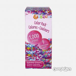 بسته اوربیز توپ های ژله ای رنگی ۱۰۰۰ تایی مایا گروپ