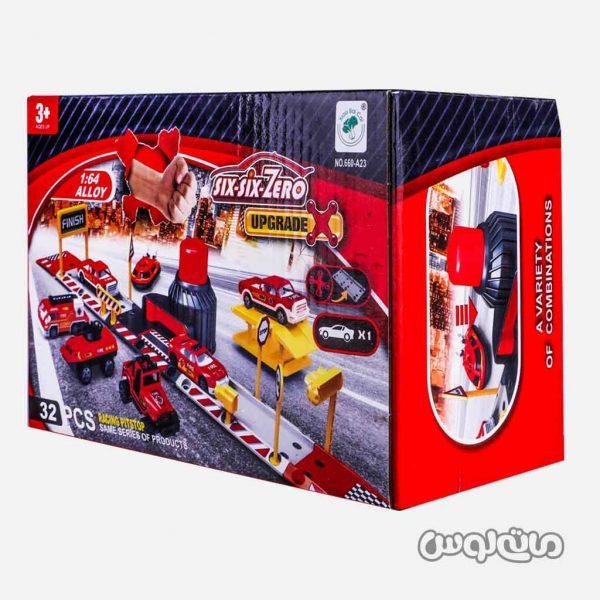 Vehicle Play sets SIX-SIX-ZERO 660-A23