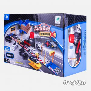 Vehicle Play sets SIX-SIX-ZERO 660-A24
