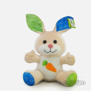 عروسک پولیشی خرگوش با لباس هویجی یانیک