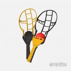 اسباب بازی اسکوپ بال دو دسته بازی همراه با دو عدد توپ نوباوه