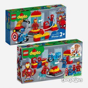 لگو آزمایشگاه قهرمانان سری دوپلو ساختنی