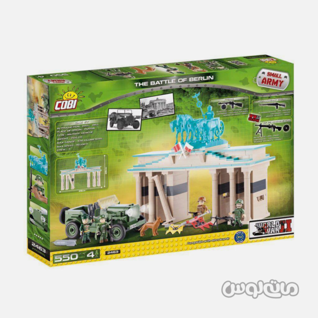 Bricks Cobi 2463