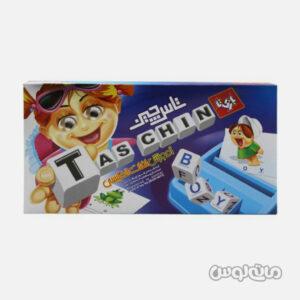بازی فکری تاس چین گیم وی آموزش کلمات با چیدن تاس های حروف