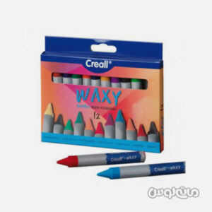 مداد شمعی وکسی 12 رنگ کریل