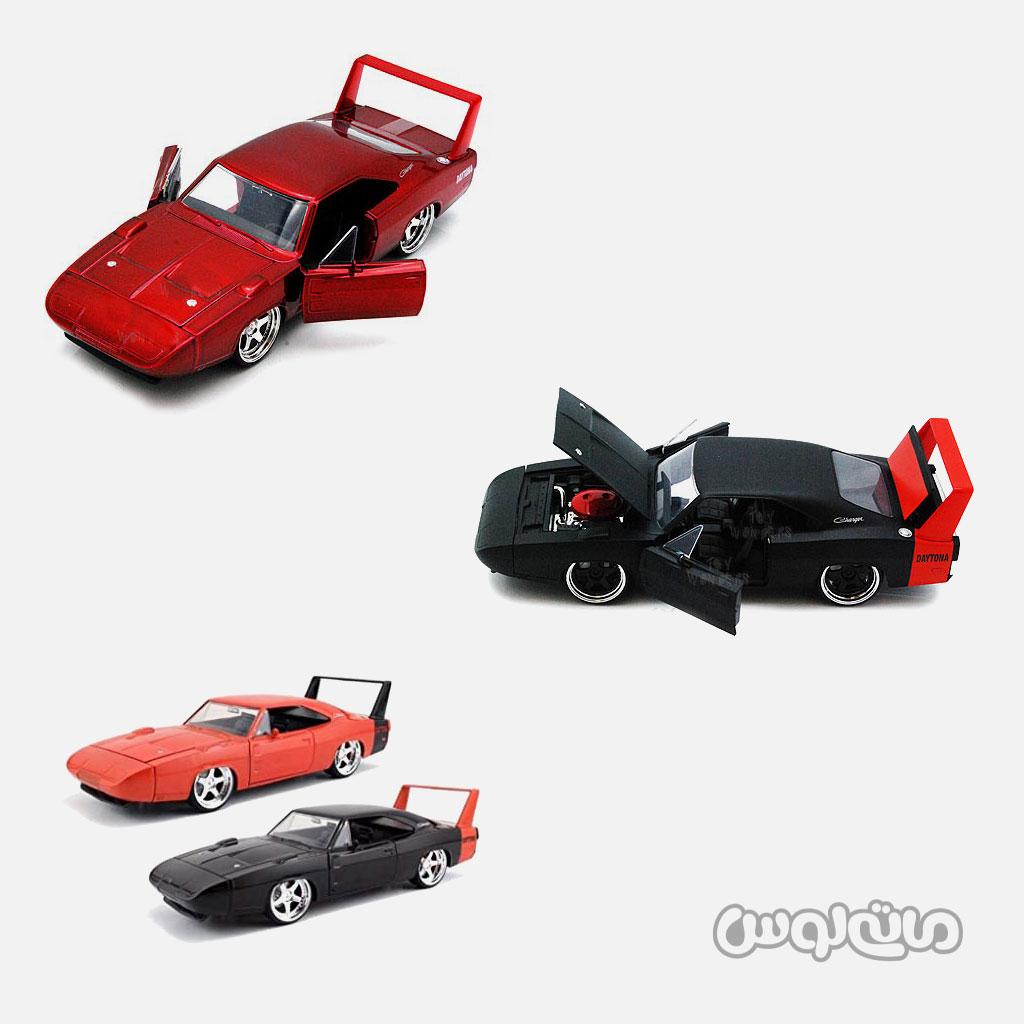 ماشین مدل دوج چارجر 1969 مشکی قرمزجادا
