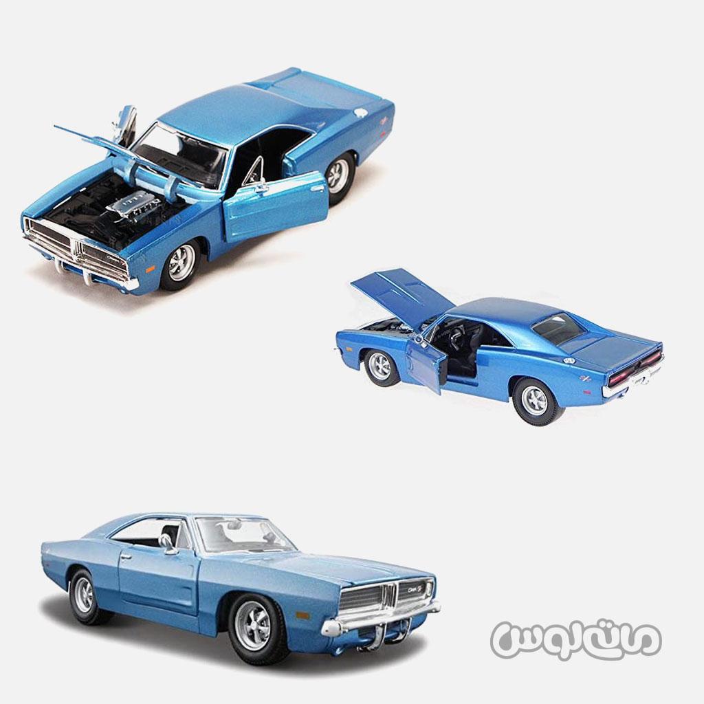 ماشین مدل دوج 1969 1:24 مایستو