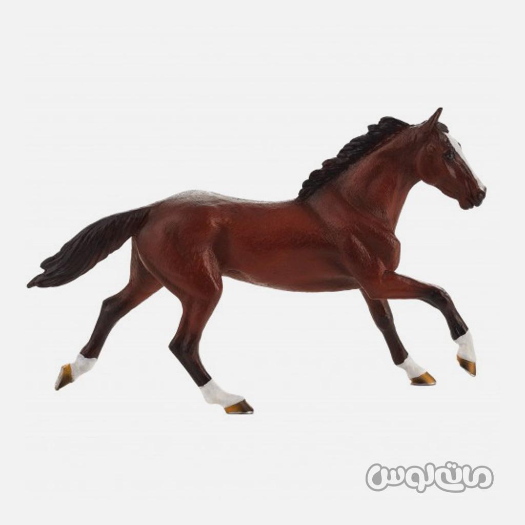 فیگور اسب هلندی قهوه ای رنگ موجو