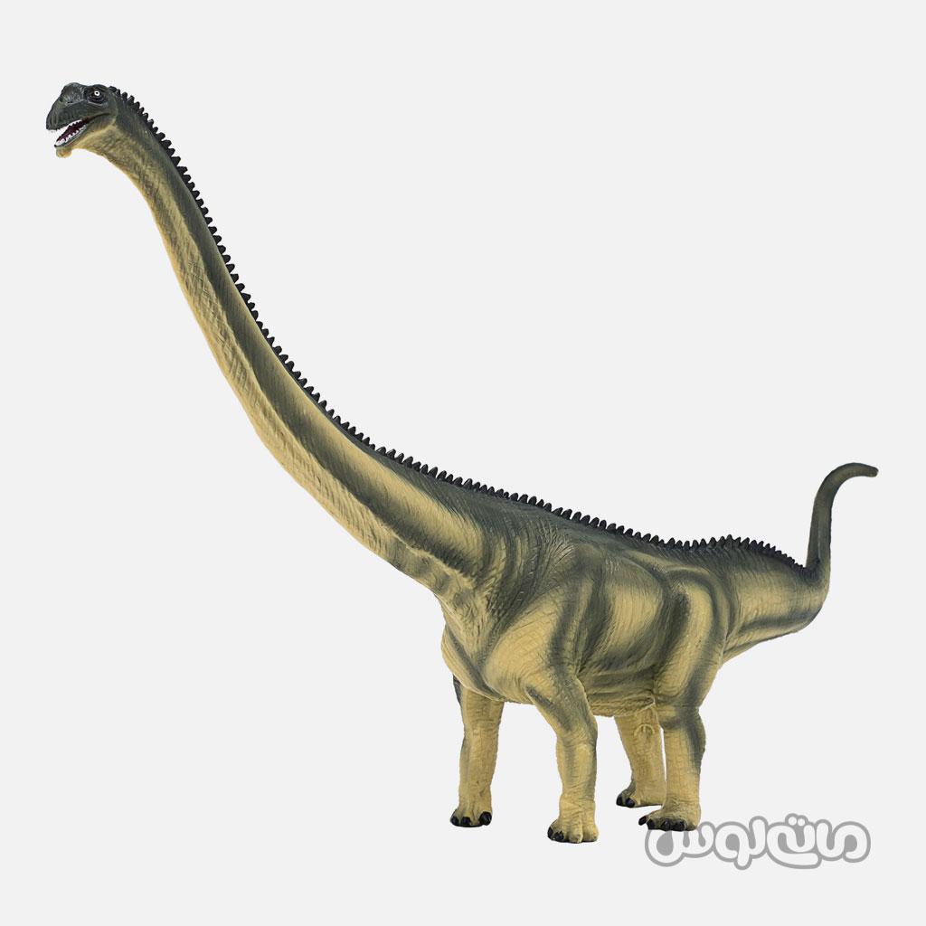 فیگور دایناسور مامنچی ساروس دیلاکس سبز رنگ موجو