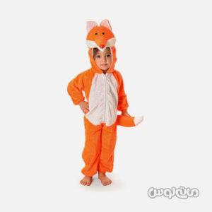 لباس سرهمی نارنجی روباه سایز 1 شادی رویان