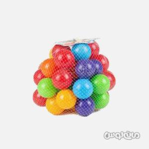 توپ بزرگ استخر توپ بسته 50 عددی توی سیتی