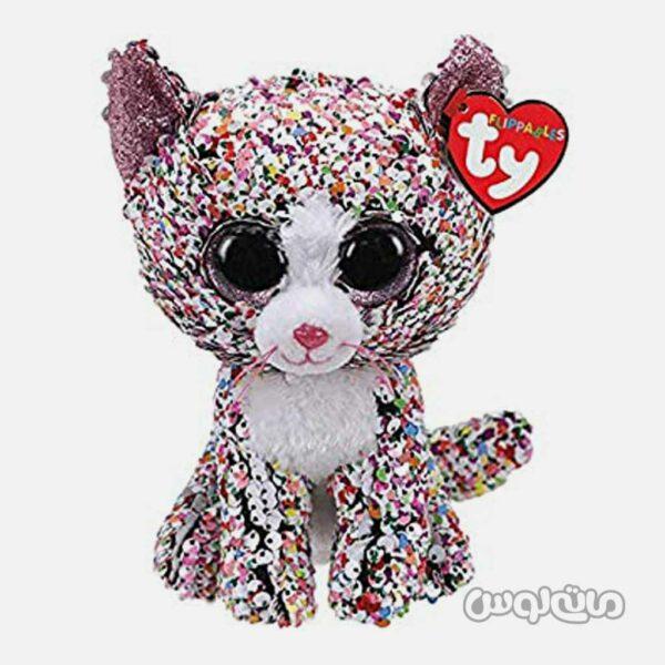عروسک پلاش گربه کونفتی 9 اینچ سری فلیپابلز تی وای