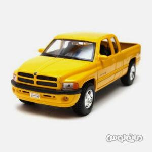 اتومبیل مدل دوج رم کوادکب 1500 زرد برند ولی