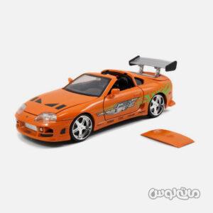 ماشین مدل تویوتا سوپرا نارنجی جادا