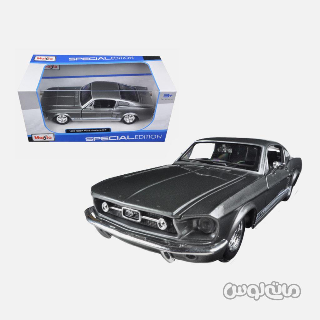 اتومبیل مدل 1:24 فورد موستانگ 1967 مایستو
