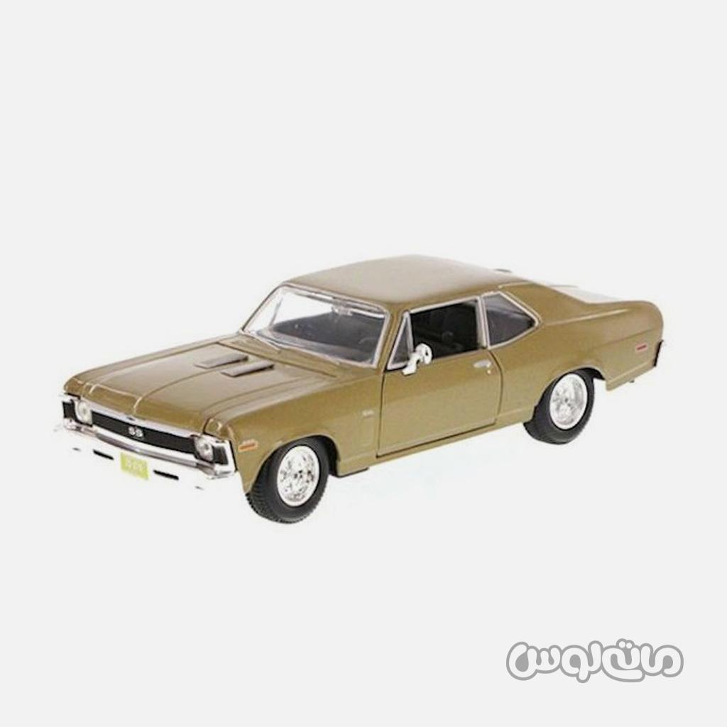 اتومبیل مدل 1:24 شورلت نوا 1970 مایستو
