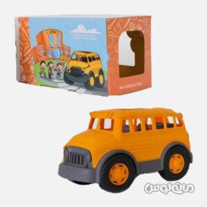 اسباب بازی اتوبوس مدرسه نارنجی نیکو تویز